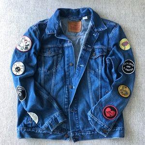 Levi's Patchwork Denim Jacket